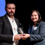 The WSC Jr. Peacemaker Award given to Jeremy Scahill