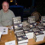 """Book sales of Scahill's book, Dirty Wars, were brisk."""